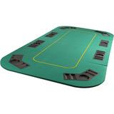 Tampo Mesa De Poker Dobrável 8 Lugares 180x90 Cm - Tander