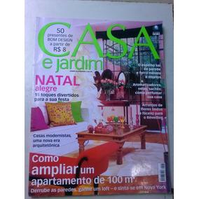 Revista - Casa E Jardim - 587 - Como Ampliar Um Apartamento