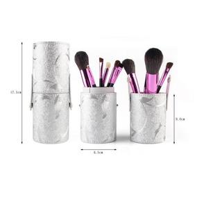Kit 12 Pincéis Maquiagem Profissional + Copo Case Luxo fdffda4547