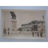 Cartão Postal Antigo São Paulo Monumento Ramos De Azevedo