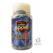 Oviflex Sport Pack X3 Protege Articulaciones Y Músculos Dep