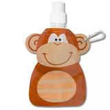 Garrafa Squeeze Dobrável Água Suco Macaco Super Oferta