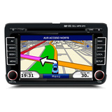 Stereo Vw Fox Cross Suran 2013-2016 Gps Dvd Bluet Tv Sonomax