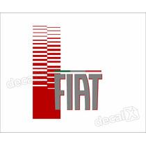 Adesivo Faixa Capo Fiat Uno Mille Fire Way Imp336