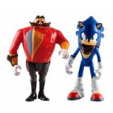 Sonic Boom Figuras: Sonic & Dr Eggman -juguet.minijuegos!