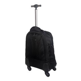 Mochila Porta Notebook Travel Tech Con Carro 19 Ruedas 360