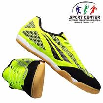Tenis Penalty Futsal Max 500 Vii Couro Adulto- Original+ Nf
