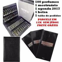 Kit Revendedor 100 Unidades Perfumeurs Contratipos Importado