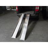 Rampa Alumínio Par P/ Subir Cadeira De Rodas Carro Pes4,7kg