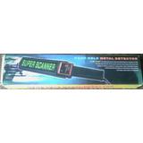 Detector De Metales Manual Super Scanner