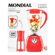 Liquidificador Mondial Power Red L77 Com Filtro E 2 Velocida