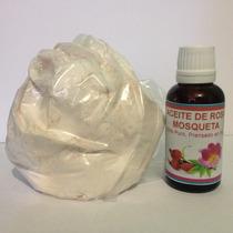 Aceite Rosa Mosqueta 30ml Puro Incluye 100gr Arcilla.
