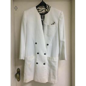 Casaco Branco ( Tamanho 44) Pouco Usado