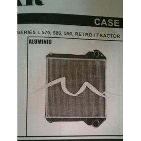 Radiador De Retro/tractor Case Series L570/580/590 De Metal