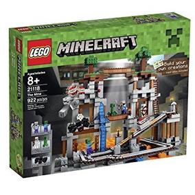 Juguete Lego Minecraft La Mina (fuera De Servicio Por El F