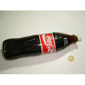 Botella Coca Cola 1 1/4 Litro Vidrio Transparente Taparosca