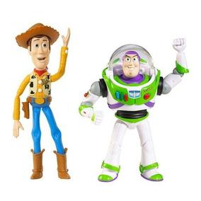 Kit Bonecos Toy Story 3 - Xerife Woody E Buzz Lightyear