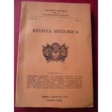 Revista Historica N° 6 Año 2 Abelardo Levaggi, A Vidaurreta