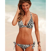 Traje De Baño Bikini Animal Print Victoria Secret