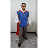 Fantasia Príncipe Florian - Da Branca De Neve -tam. Adulto