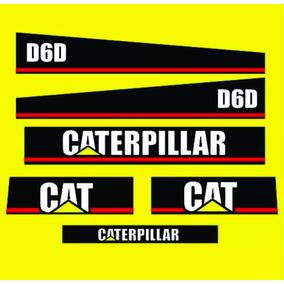 Jogo De Adesivos Para Trator Caterpillar D6d