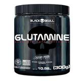 Glutamine - Caveira Preta - 300g - Black Skull