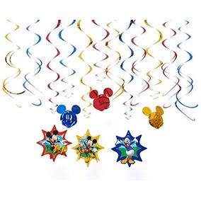 Disney Mickey Mouse Party Cumpleaños Decoración Colgante Del
