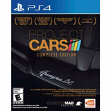 Project Cars Complete Edition Ps4 Nuevo Disco Físico