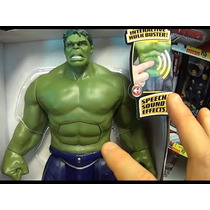 Brinquedo Hulk Marvel Articulados 30cm A Pronta Entrega