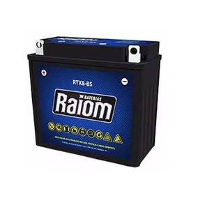 Bateria Raiom Rtx8-bs Cbx Nx 150 200 Strada Neo