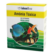 Teste Labcon Amonia Toxica Agua Doce (50 Testes) Alcon