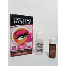 Tattoo Henna Modelagem E Pigmentação De Sobrancelha