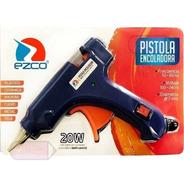 Pistola  Silicona Encoladora Chica 7 Mm Ezco Para En Barra