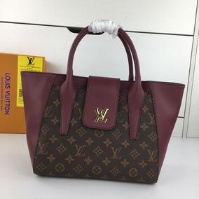 Bolsa Louis Vuitton Dama Baúl Collage Chocolate Y Purpura