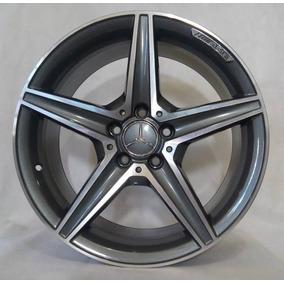 Jogo De Rodas Mercedes-benz C250 Amg Raw 19x8 5x112 | Diaman
