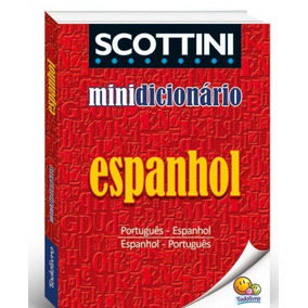 Mini Dicionario Português Inglês Espanhol Atacado