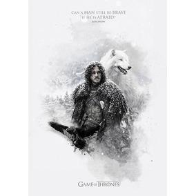 Poster Cartaz Game Of Thrones Jon Snow Decorativo Art A3