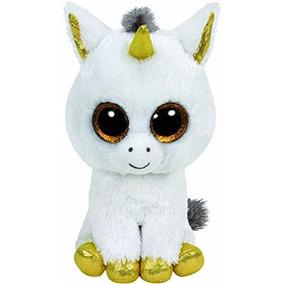 Peluches Ty Beanie Boos Unicornio Pegasus 15cm Original