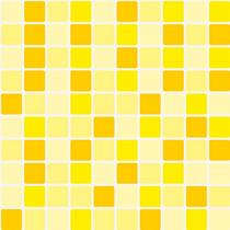 Adesivo Pastilhas Mix Amarelo 0,58x2,00m