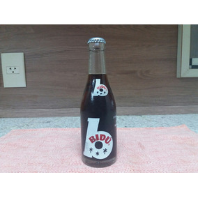 Antiga Garrafa Refrigerante Bidu 192 Ml Brasileira