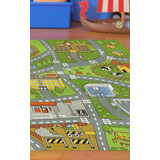 Alfombra Carpeta Child Rug Pistas 100x140 Niños Juvenil