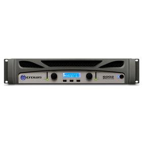 Crown Xti 6002 Amplificador De Potencia 3000watt En 2 Ohm X2