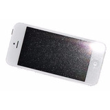 Película De Vidro Com Glitter Luxo Iphone 5/5s/5c