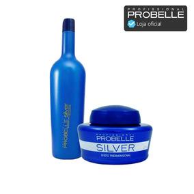 Shampoo 1 L + Máscara 250g Silver Matizador ! Probelle
