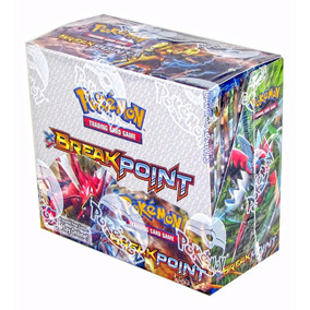 Box Card Game Break Point Pokemon