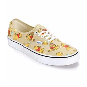 Vans Disney Winnie Pooh Originales Y Nuevos Tenis Niños