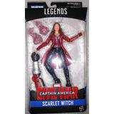 Scarlet Witch Marvel Legends Civil War Antman Baf Nuevo