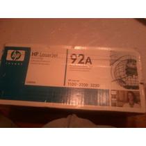 Toner Hp Laserjet 92a Para Impresoras 1100-3200-3220