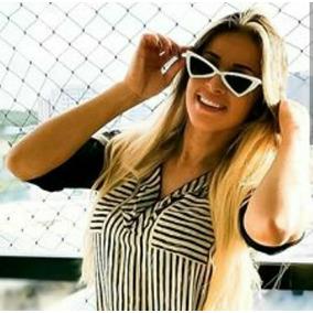 9e638ec72ec72 Óculos Importado De Sol Gatinho Luxo Feminino Moda Verão Cat