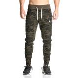 Asrv Slimfit Casual Con Logo Gym Pants Camuflajeados Enviog